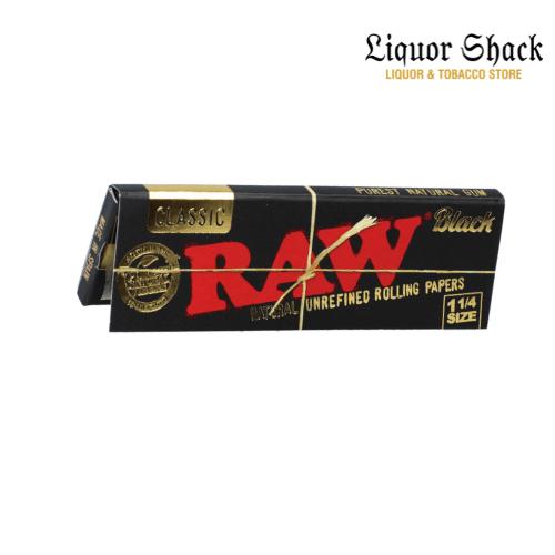 Raw Classic Black Rolling Paper