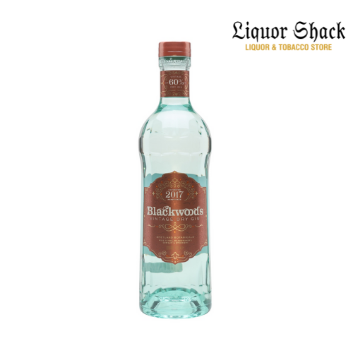 Blackwoods Vintage Gin, vintage dry gin, Blackwood's Vintage Dry Gin, Blackwoods Vintage Dry Gin 60% Limited Edition