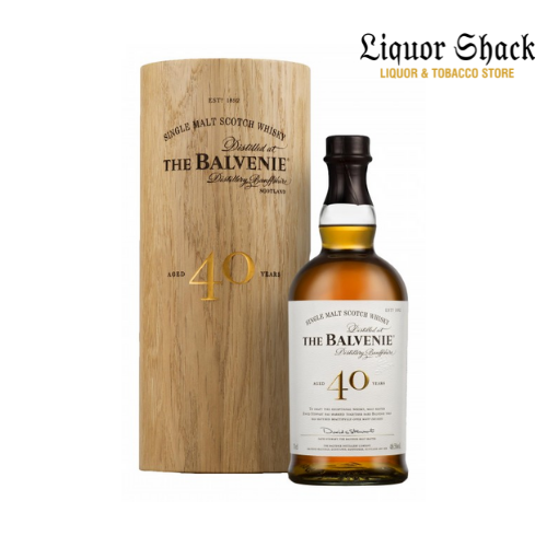 Buy this single malt Balvenie 40 Years Whiskey in Kenya from the best whiskey prices liquor store and enjoy fast deliveries countrywide.